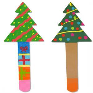 Marque-pages sapin de Noël