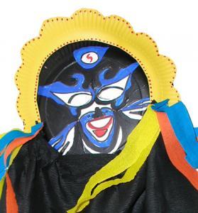 Masque de l'opéra de Pékin