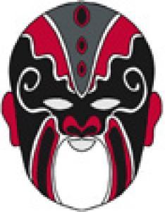 masque de l'opéra chinois