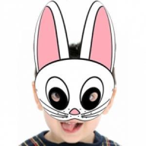 Masque de lapin de Pâques