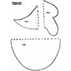 Masque oiseau : imprimer le gabarit