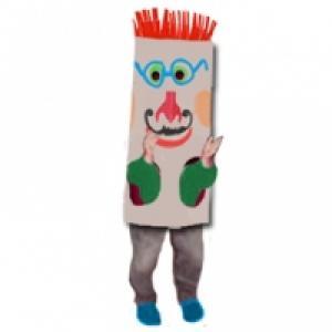 Grosse tête de carnaval