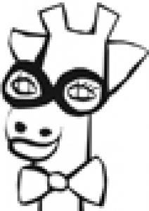 Imprimer la tête de girafe de Nathalie
