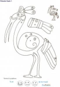 Fiches de graphismes inspiré des motifs tradtionnels anciens du mexique