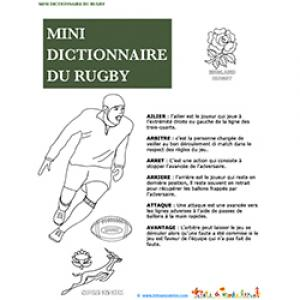 Page 1 mini dictionnaire du rugby