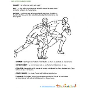 Mini dictionnaire Rugby page 2