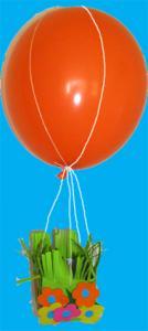 Mobile de Pâques ballon