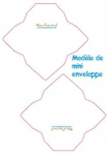 Modèle mini enveloppe