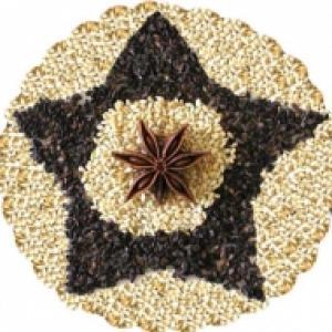 Mosaique légume secs
