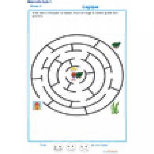 labyrinthe 1 : Nana et sa maison