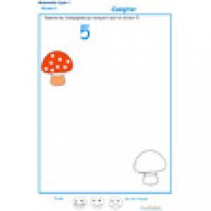 exercice 2 : Ajouter les champignons qui manquent