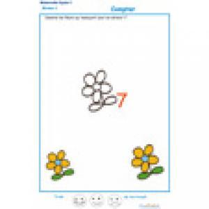 exercice 3 : Ajouter les fleurs qui manquent