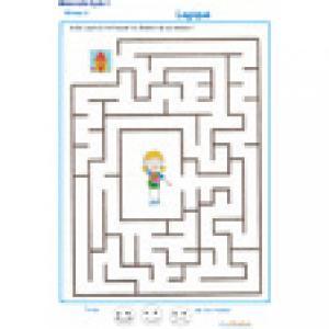labyrinthe 7 MS : Laura et sa maison