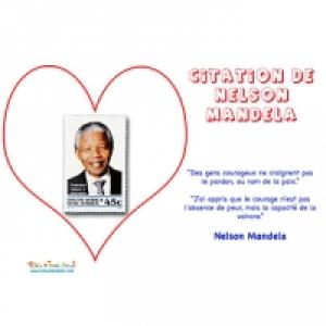 Découvrez les citations de Nelson Mandela et activité enfant sur le site Tête à Modeler