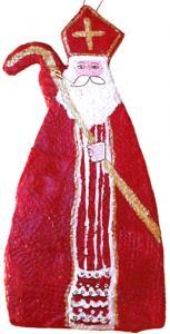 Explictions pour réaliser un Saint Nicolas en  papier mache