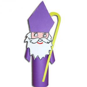 Fabriquer un Saint Nicolas de décoration