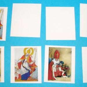 Fabriquer un Jeu de mémoire de Saint Nicolas
