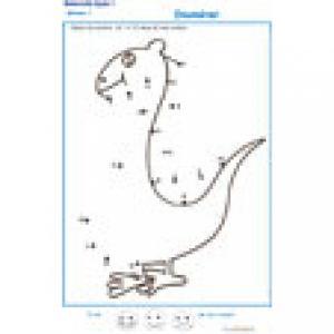 exercice 5 dessin à points pour la numération GS