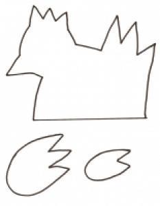 modèle de chaussette poule pour oeuf