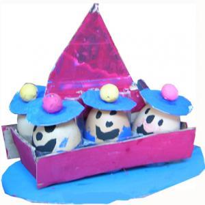 bateau et son équipage oeufs