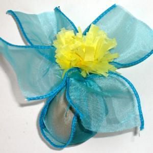 Fabriquer un oeuf de en forme de fleur pour décorer la table