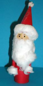 Réaliser un Père Noël dont la tête est faite avec un oeuf
