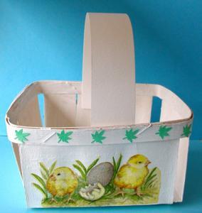 Fabriquer une panière de Pâques