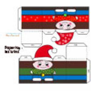 Lutin de Noël, un Paper toy à imprimer