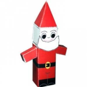 Paper toy Père Noël