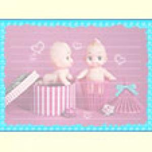 Papier à lettre aux deux bébés