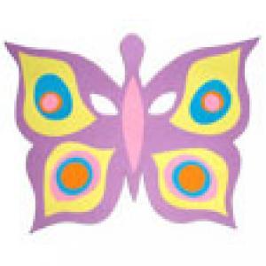 Realisation du joli masque papillon