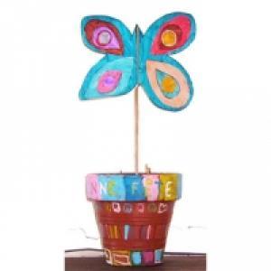 Papillon marque place