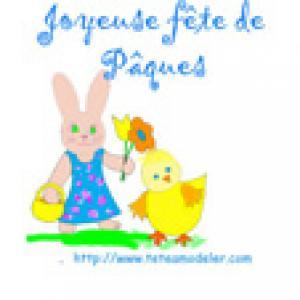 Image de Pâques à imprimer - image Paque 22