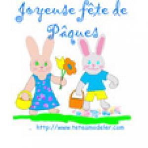 Image de Pâques à imprimer - image Paque 23
