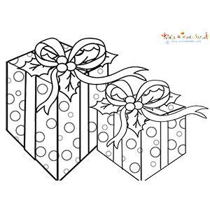 Deux paquets cadeaux