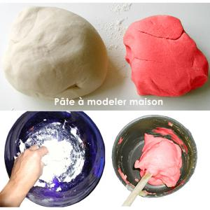Recette de la pâte à modeler