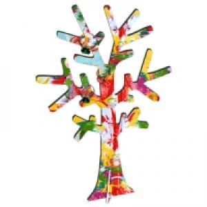 Peinture facile d'un arbre à bagues