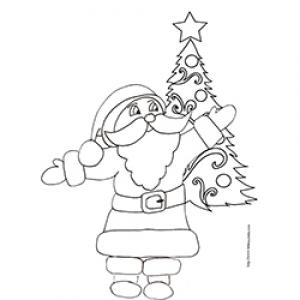 Dessin Sapin Coloriage Sapin De Noël Avec Tête à Modeler