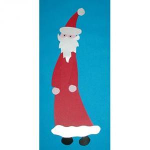 Fabriquer un Père Noël en papier