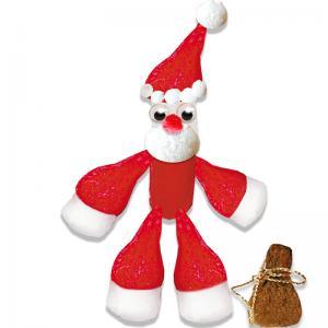 Père Noël en flocons de maïs