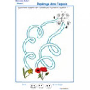 labyrinthe 4 : Le papillon et la tulipe