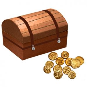Monnaie ancienne en pâte à modeler