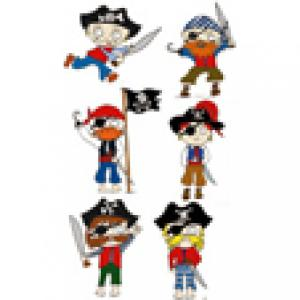 les pirates pour la décoration du gâteau pirate