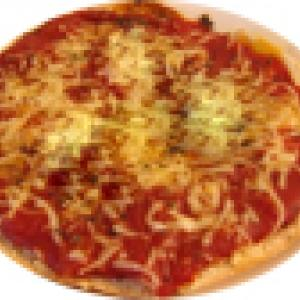 Pizza tomate et fromage