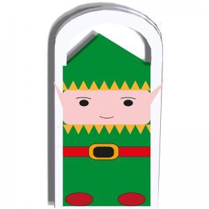 Pochette cadeau Lutin du Père Noël