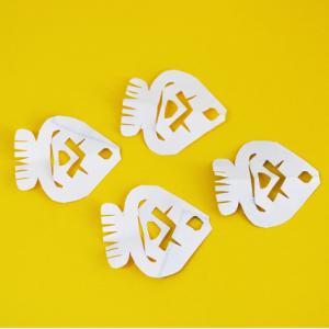poissons en papier