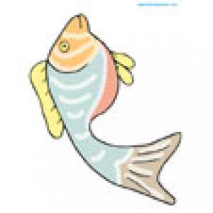 Un poisson à imprimer pour les farces du 1er avril