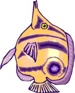 poisson d'avril à découper