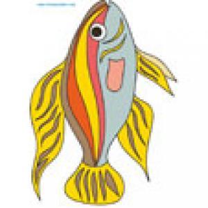 Poisson toxique ? Un poisson a imprimer