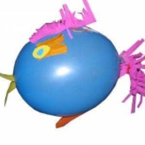 Ballon oiseau de décoration